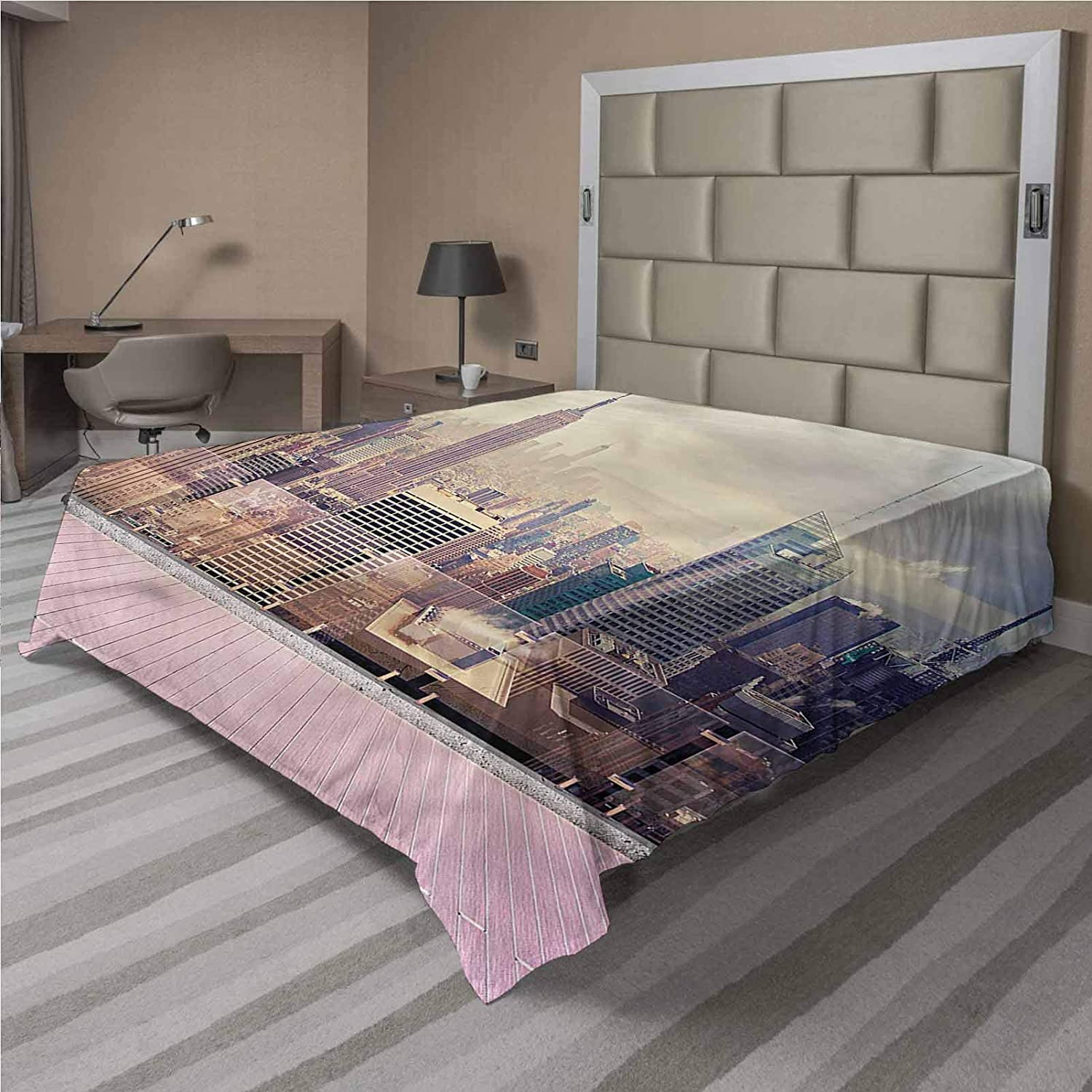 Safety and trust LCGGDB Modern Flat Sheet Only New Brushed View Roof Fashionable USA Mic York
