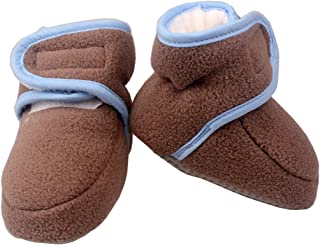 Unisex Baby Newborn Booties Winter Infant Warm Fleece Slippers 0-12 Months