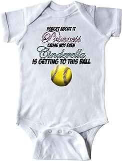inktastic Forget It Princess Softball Infant Creeper