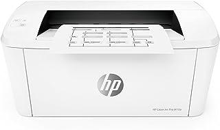 طابعة HP LaserJet Pro M15a سرعة طباعة تصل إلى 19 صفحة في الدقيقة (بالأسود) - اللون: الأبيض [W2G50A]