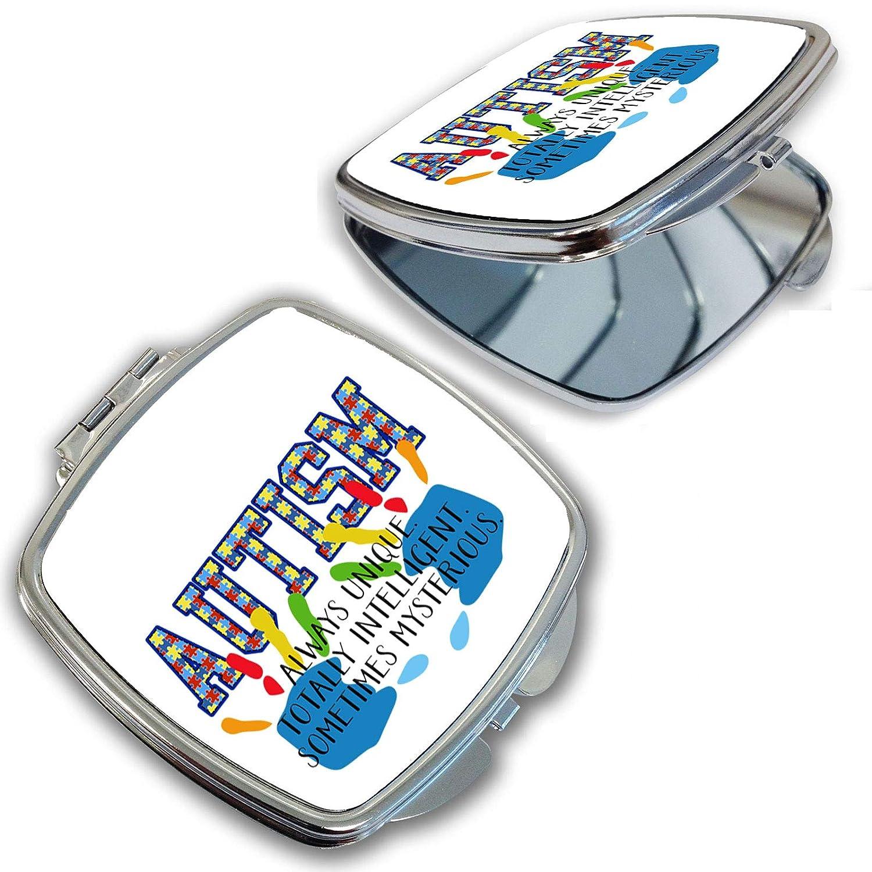 BRGiftShop Puzzle Pieces Many popular brands Autism Poc 25% OFF Awareness Definition Compact