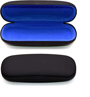 Hard Shell Eyeglass Case, Protective Case for Glasses and Sunglasses, By OptiPlix