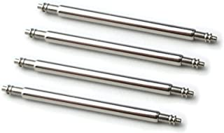 HEAVY DUTY 18mm SPRING BAR 1.8mm thickness Packet of Four Stainless Steel Watch Pins