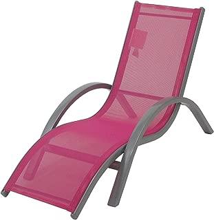 Redmon Kids Lounger Beach Chair, Pink