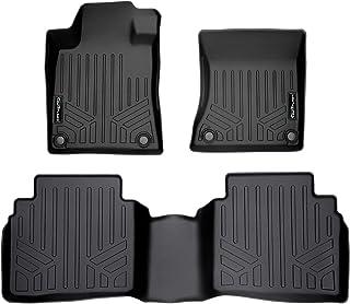SMARTLINER Custom Fit Floor Mats 2 Row Liner Set Black for 2019-2021 Nissan Altima