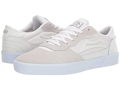 Lakai Cambridge (White/White Suede) Men