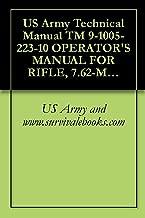 US Army Technical Manual TM 9-1005-223-10 OPERATOR'S MANUAL FOR RIFLE, 7.62-MM, M14, W/E, (1005589-1 271), RIFLE, 7.62-MM, M14A1, W/E, (1005-072-501 1), BIPOD, RIFLE, M2, (1005-711-6202), 1972