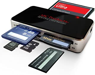 ABC Products? All in One USB Multi Digital Camera / Mobile Phone Picture Memory Card Reader Writer USB 2.0 Windows 98SE, ME, 2000, XP, Vista, 7, 8 and Apple Mac OS V9.2 & above, PLUG and PLAY Digital Photo Frame Transfer, Reads all Cards Except Smart Media, USB Cable Included