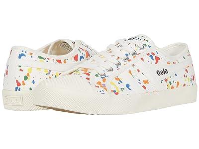 Gola Coaster Splatter (Off White/Multi) Women