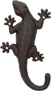 AB Tools Lagarto Gecko Jardin Puerta Pared derramo Escultura Estatua Decoracion Metalica