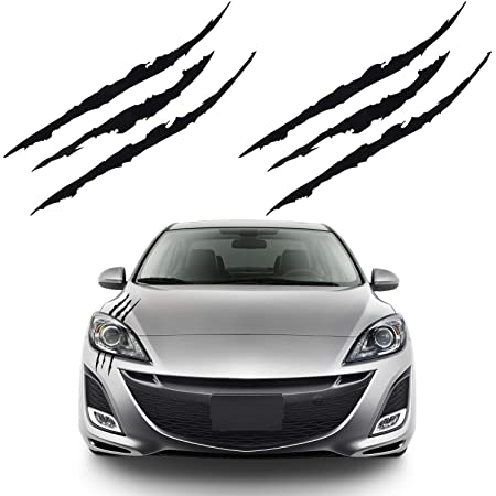 KKmoon Adesivo Auto Rosso Adesivi per Auto Universali Decalcomania Cofano Tetto Laterale Corpo Vettura da Corsa Stile Striscia per Tutte Le Auto