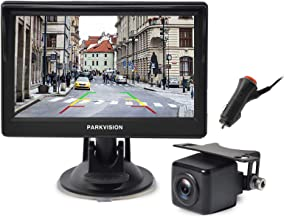 $75 » Sponsored Ad - PARKVISION Wired Backup Camera Kit,AHD 720P reversing backup camera with 5''IPS Screen monitor visable from...