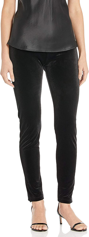 SLIM-SATION sale Women's Pull on Solid Max 77% OFF Ankle Legging Stretch Velvet