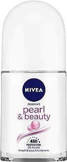NIVEA Deodorant Roll On, Pearl & Beauty, 50ml