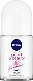 NIVEA Deodorant Roll On, Pearl & Beauty, 50ml