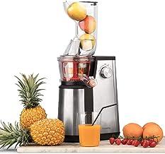 H.Koenig GSX22 juicepress, 1 l/3 olika filter för sorbet, tjock juice, tunn juice, resterbehållare/diskmaskinstålig/rostfr...