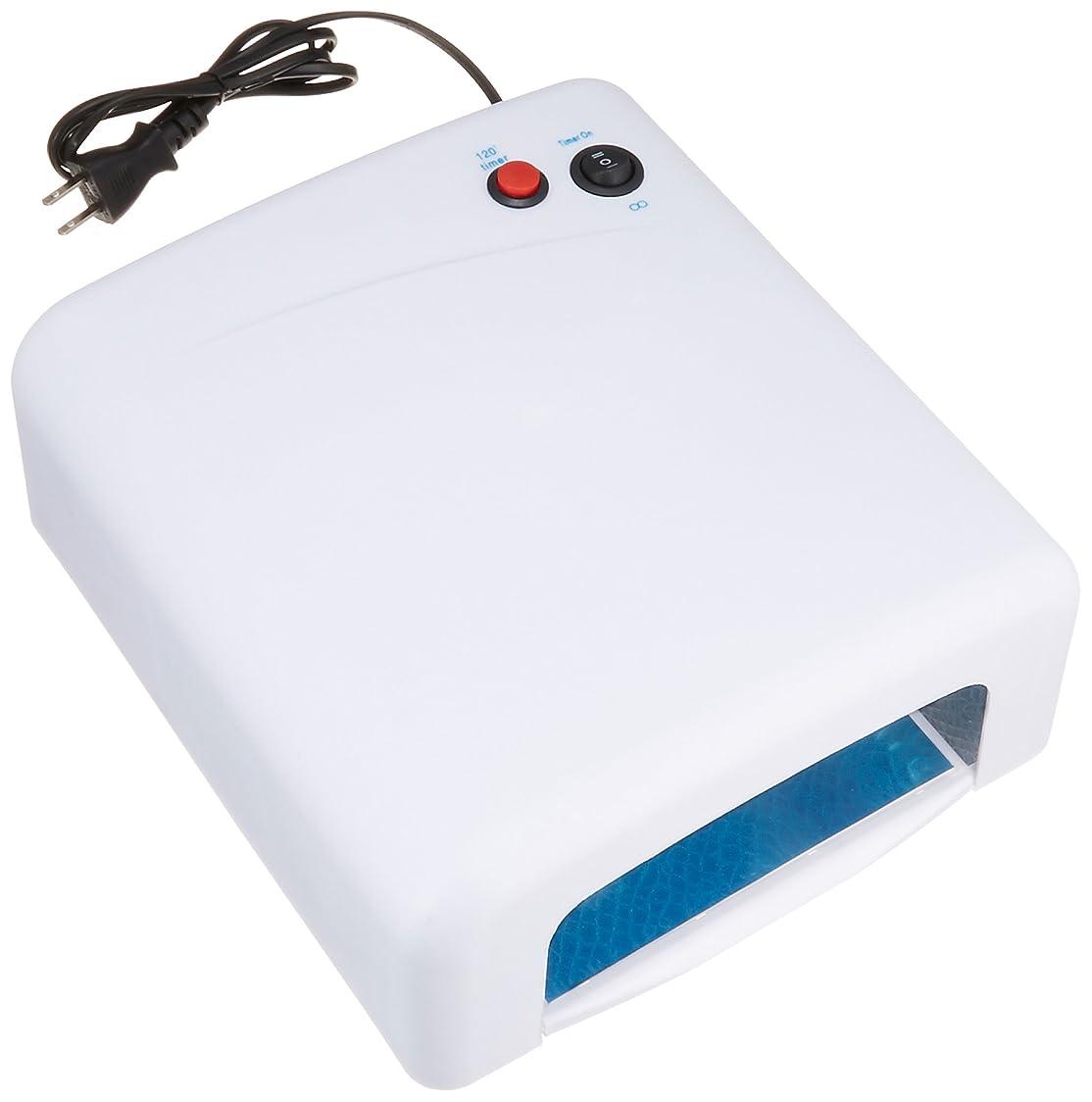 スラッシュ札入れ狭いノーブランド品 UVライト 36W ホワイト 取扱説明書付き