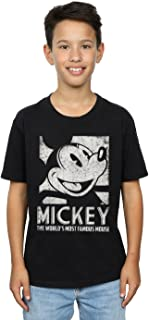 Disney niños Mickey Mouse Most Famous Camiseta