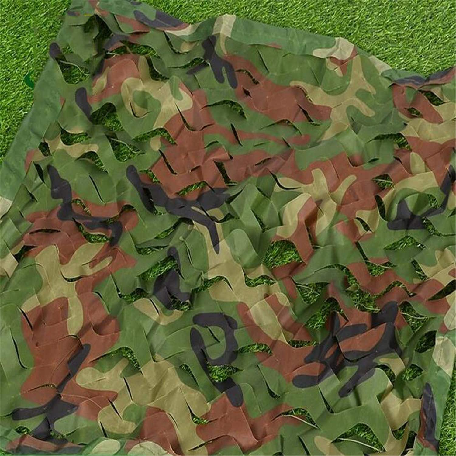 Jungle Camouflage Camouflage Net MultiSize SingleLayer Camouflage Net Camouflage Shade Net Sunscreen Hidden Cover Cloth