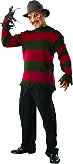 Costume Men's Nightmare On Elm St Deluxe Freddy Sweater