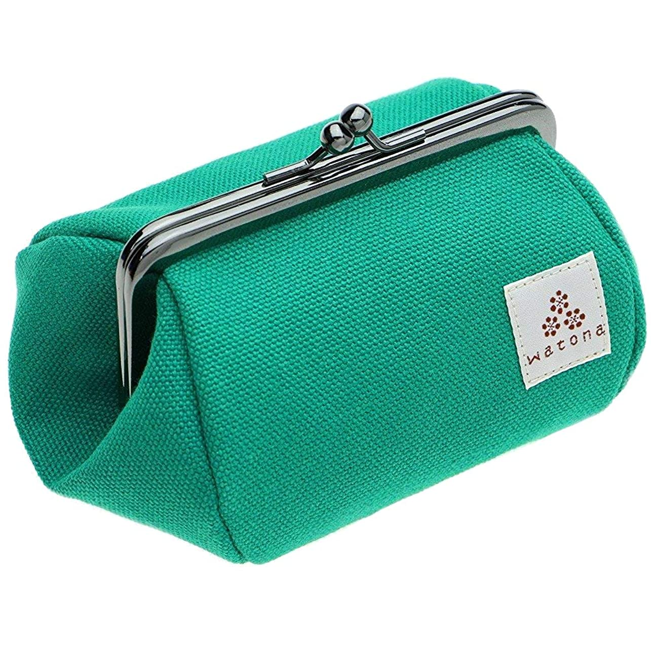 watona 帆布がま口 化粧ポーチ 3.5寸Sサイズ
