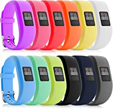 iBREK for Garmin Vivofit 3/jr/jr 2 Bands, Adjustable Replacement Wristbands with Watch Buckle for Kids Women Men(No Tracker)