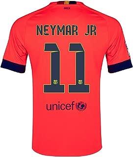NEYMAR #11 Nike FC Barcelona Away Men Jersey 2014-2015