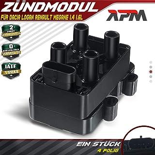 XLHZKAL Cendrier de voiture Accessoires de voiture Portable LED Light Cendrier de voiture pour Dacia duster logan sandero stepway lodgy mcv 2 dokker voiture style noir