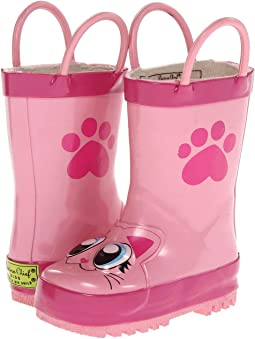 Western Chief Kids Pink Kitty Rainboot (Toddler/Little Kid/Big Kid)