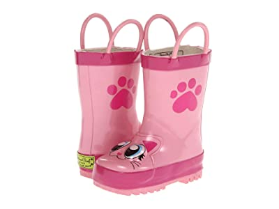 Western Chief Kids Limited Edition Printed Rain Boots (Toddler/Little Kid) (Pink) Girls Shoes