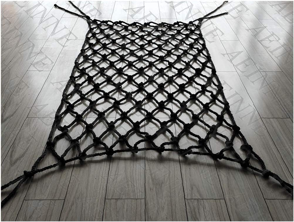 AEINNE Black Net Safety Netting for Railings Decor lowest price Rapid rise Wall Carg