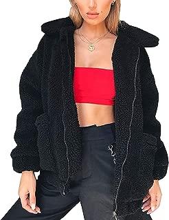 Best womens teddy jacket black Reviews
