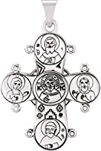 Mr.Piercing Sterling Silver Dagmar Cross Pendant Without Packaging