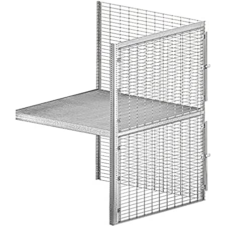Salsbury Industries Bulk Storage Locker Double Tier Add-On, 36-Inch, 36-Inch