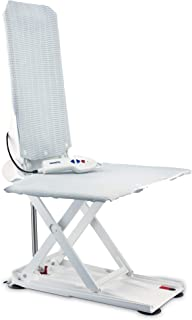 Aquatec XL Heavy Duty Bath Lift, Elevating Lift with Hand Remote, 375 lb. Weight Capacity, White, 1573862