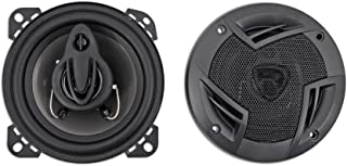 """Pair Rockville RV4.3A 4"""" 3-Way Car Speakers 500 Watts / 70w RMS CEA Rated Total photo"""