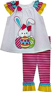 Infant and Toddler Easter Egg Bunny Legging Set