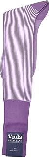 One Pair Unique Retro Vertical Dress Stripe Over-the-Calf Cotton Socks
