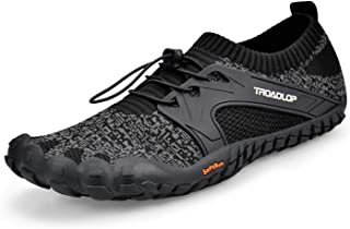 Troadlop Mens Quick Drying Outdoor Lightweight Breathable Non-Slip Mesh Hiking Trail Running Shoes(Size 6.5-14 US)