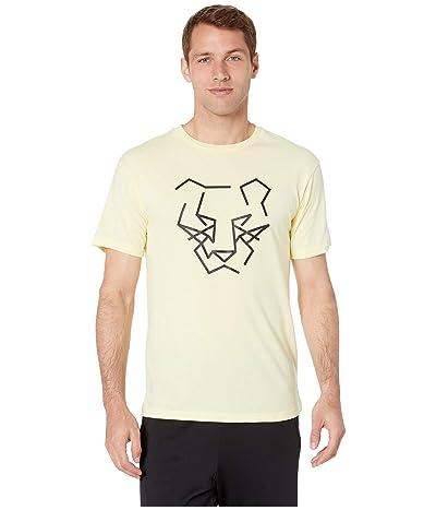 ASICS Tiger DT Graphic Tee (Soft Yellow) Men