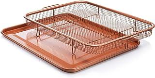 Gotham Steel Crisper tray, XXL, Brown