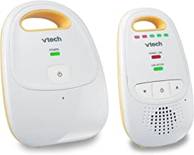 VTech DM111 Audio Baby Monitor with up to 1,000 ft of Range, 5-Level Sound Indicator, Digitized Transmission & Belt Clip (...