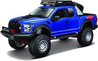 Maisto 2017 Ford F150 Raptor Off-Road Edition 1:24 Scale Diecast Truck (Blue)