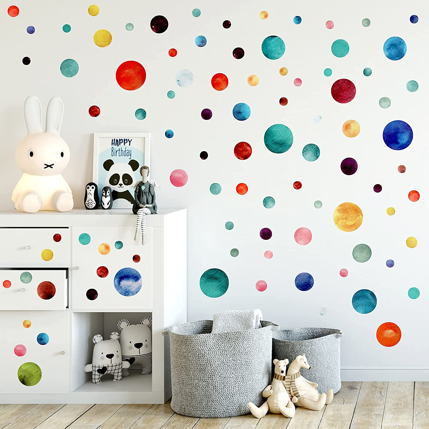 Polka Dots Wall Limited Special Price Stickers for Living Bedroom Award Room Colorful Paint