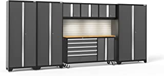 NewAge Products Bold 3.0 Gray 7 Piece Set, Garage Cabinets, 50506
