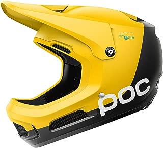 POC Coron Air Spin, Helmet for Downhill Mountain Biking, Sulphite Yellow, XLX
