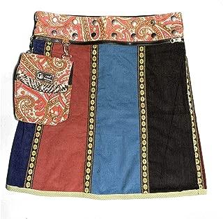 Reversible Wrap Skirt - OS