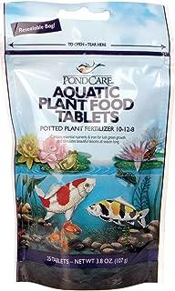 PondCare Aquatic Potted Plant Food Fertilizer, 3.8 Oz 25 Tablets
