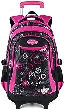 Fanspack Rolling Backpack for Girls Backpack with Wheels Roller Backpack Wheeled Backpack