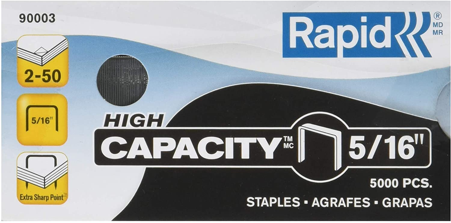 Rapid High Capacity Portland Mall Staples 5 Outstanding 000 16-Inch Per 90003 Box